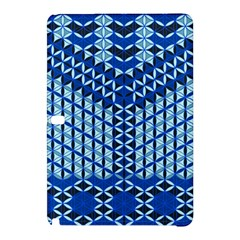 Flower Of Life Pattern Blue Samsung Galaxy Tab Pro 10 1 Hardshell Case