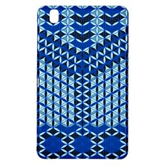 Flower Of Life Pattern Blue Samsung Galaxy Tab Pro 8 4 Hardshell Case