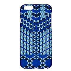 Flower Of Life Pattern Blue Apple Iphone 6 Plus/6s Plus Hardshell Case
