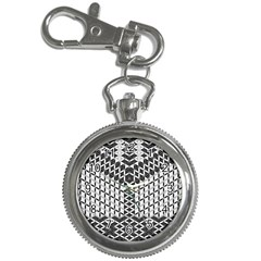 Flower Of Life Grey Key Chain Watches