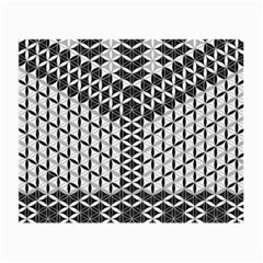 Flower Of Life Grey Small Glasses Cloth (2 Side)