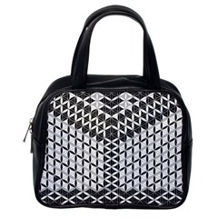 Flower Of Life Grey Classic Handbags (one Side)