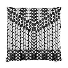 Flower Of Life Grey Standard Cushion Case (two Sides)