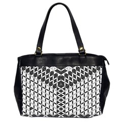 Flower Of Life Grey Office Handbags (2 Sides)