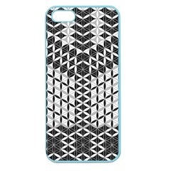 Flower Of Life Grey Apple Seamless Iphone 5 Case (color)