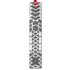 Flower Of Life Grey Large Book Marks