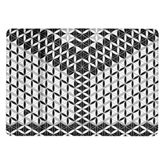 Flower Of Life Grey Samsung Galaxy Tab 10 1  P7500 Flip Case