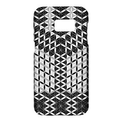 Flower Of Life Grey Samsung Galaxy S7 Hardshell Case