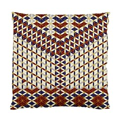 Flower Of Life Pattern Red Blue Standard Cushion Case (one Side)