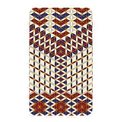 Flower Of Life Pattern Red Blue Memory Card Reader