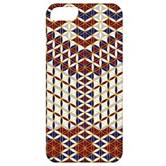 Flower Of Life Pattern Red Blue Apple Iphone 5 Classic Hardshell Case