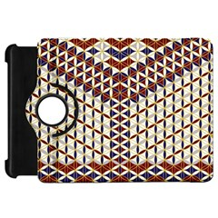 Flower Of Life Pattern Red Blue Kindle Fire Hd 7