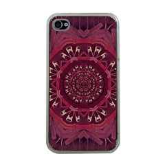 Leather And Love In A Safe Environment Apple Iphone 4 Case (clear)