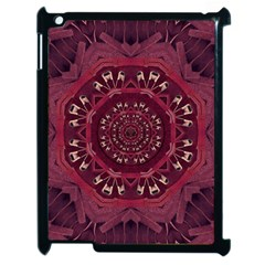 Leather And Love In A Safe Environment Apple Ipad 2 Case (black)