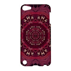 Leather And Love In A Safe Environment Apple Ipod Touch 5 Hardshell Case