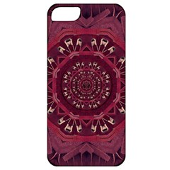 Leather And Love In A Safe Environment Apple Iphone 5 Classic Hardshell Case