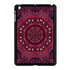 Leather And Love In A Safe Environment Apple Ipad Mini Case (black)