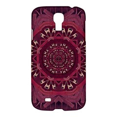 Leather And Love In A Safe Environment Samsung Galaxy S4 I9500/i9505 Hardshell Case