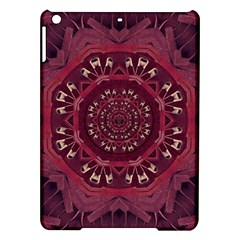 Leather And Love In A Safe Environment Ipad Air Hardshell Cases