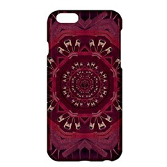Leather And Love In A Safe Environment Apple Iphone 6 Plus/6s Plus Hardshell Case