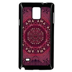 Leather And Love In A Safe Environment Samsung Galaxy Note 4 Case (black)