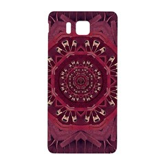 Leather And Love In A Safe Environment Samsung Galaxy Alpha Hardshell Back Case