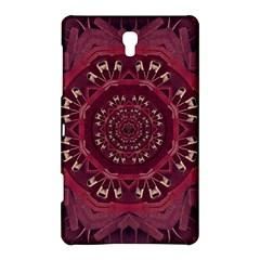 Leather And Love In A Safe Environment Samsung Galaxy Tab S (8 4 ) Hardshell Case