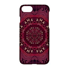 Leather And Love In A Safe Environment Apple Iphone 8 Hardshell Case
