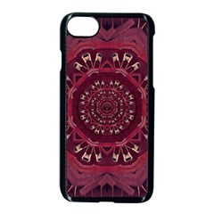 Leather And Love In A Safe Environment Apple Iphone 8 Seamless Case (black)
