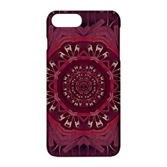 Leather And Love In A Safe Environment Apple Iphone 8 Plus Hardshell Case