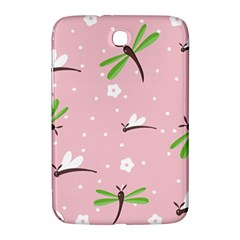 Dragonfly And White Flowers Pattern Samsung Galaxy Note 8 0 N5100 Hardshell Case