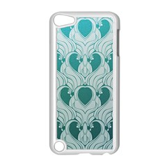 Teal Art Nouvea Apple Ipod Touch 5 Case (white)