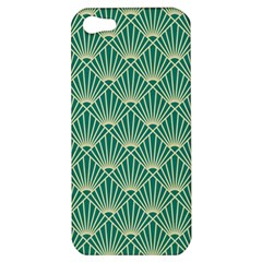 Green Fan  Apple Iphone 5 Hardshell Case