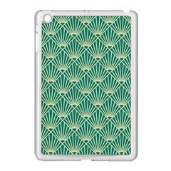 Green Fan  Apple Ipad Mini Case (white)
