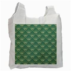 Green Fan  Recycle Bag (two Side)