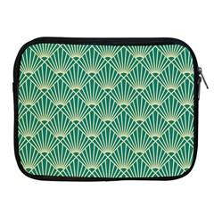Green Fan  Apple Ipad 2/3/4 Zipper Cases