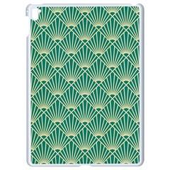 Green Fan  Apple Ipad Pro 9 7   White Seamless Case