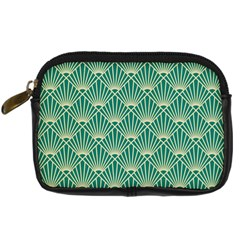 Green Fan  Digital Camera Cases