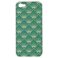 Green Fan  Apple Iphone 5 Hardshell Case