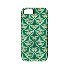 Green Fan  Apple Iphone 5 Classic Hardshell Case (pc+silicone)