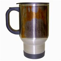 Gold Silver Travel Mug (silver Gray)