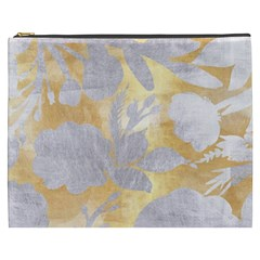 Gold Silver Cosmetic Bag (xxxl)