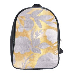 Gold Silver School Bag (xl)