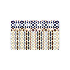 Flower Of Life Pattern 2 Magnet (name Card)