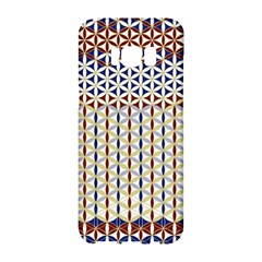 Flower Of Life Pattern 2 Samsung Galaxy S8 Hardshell Case