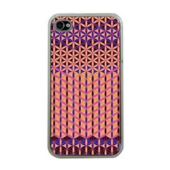 Flower Of Life Pattern 3 Apple Iphone 4 Case (clear)