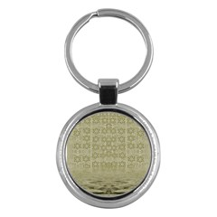 Shooting Stars Over The Sea Of Calm Key Chains (round)