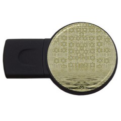 Shooting Stars Over The Sea Of Calm Usb Flash Drive Round (4 Gb)