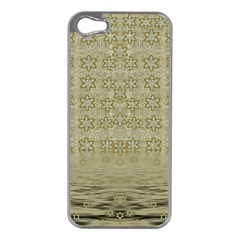Shooting Stars Over The Sea Of Calm Apple Iphone 5 Case (silver)