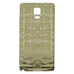 Shooting Stars Over The Sea Of Calm Galaxy Note 4 Back Case